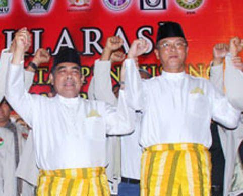 PH Minta MK Tetapkan Herman Abdullah - Agus Widayat Cagubri Terpilih 2013 - 2018