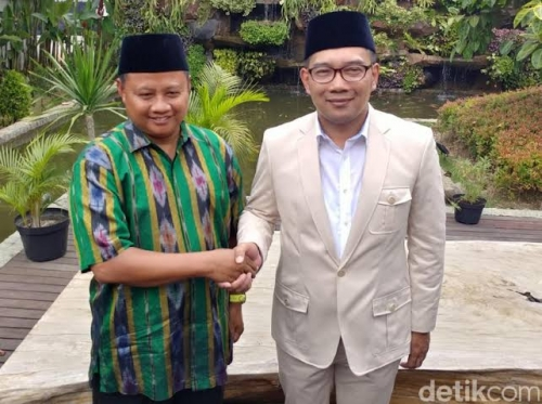 4 Parpol Resmi Usung Ridwan-Kamil di Pilkada Jabar 2018