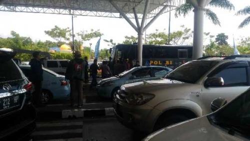4 Buron Sabu 37 Kg yang Ditangkap di Probolinggo Sampai di SSK II Pekanbaru