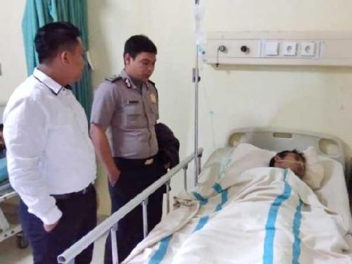 Coba Kabur, Polisi Lumpuhkan Seorang Pelaku Perampokan di Mandau dengan Timah Panas