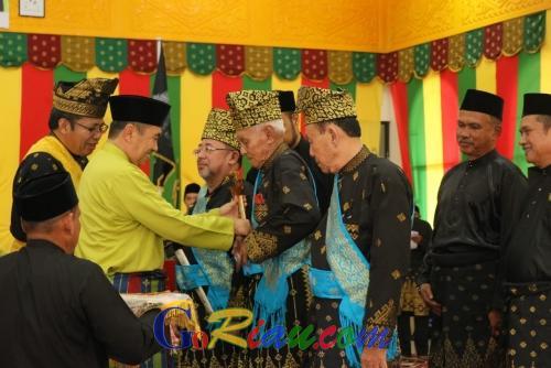 Syamsuar Penuhi Jemputan Pengukuhan Pengurus LAMR Kabupaten Bengkalis 2019 - 2024