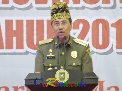 Gubri Syamsuar Ajak Warga Riau Bijak Menggunakan Medsos dan Bersama Jaga Kedamaian Pemilu 2019