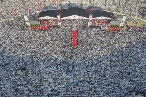 Lihat Lautan Manusia di Stadion GBK, Sandiaga: Syukur Alhamdulillah, Banyak Masyarakat Inginkan Perubahan