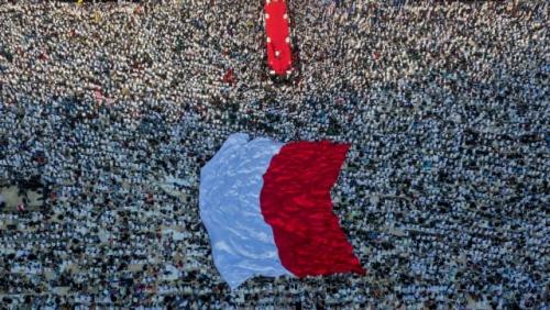 Massa Kampanye Akbar Prabowo-Sandi Diklaim Lebih Satu Juta, Maruf Amin Anggap Biasa Saja