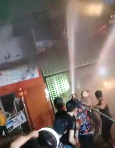 Toko Grosir di Bagan Kota Terbakar, Kerugian Ditaksir Rp600 Juta