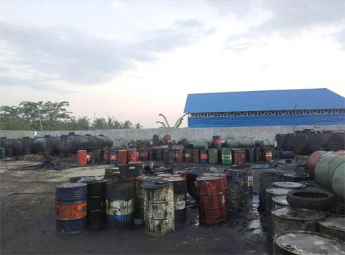 Ditreskrimum Polda Riau Ungkap Pencurian Minyak Mentah CPI di Wilayah Rohil
