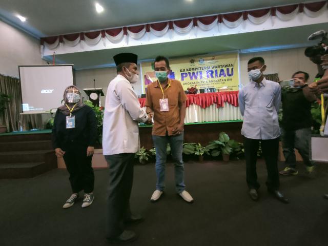 Sebanyak 84 Jurnalis dari Berbagai Kabupaten di Riau Ikuti UKW Angkatan XV dan XVI