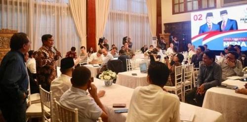 Ditanya Media Asing Soal People Power, Prabowo: Kali Ini Saya Tak Bisa Menerima Pemilihan Curang