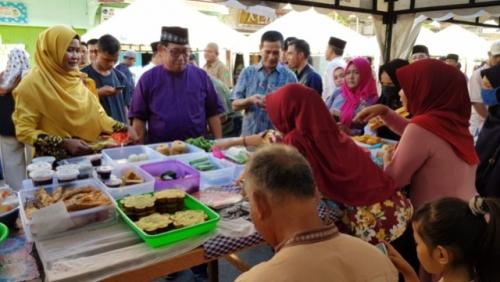 Pedagang Takjil Bazar Ramadhan Diminta Tidak Menggunakan Bahan Berbahaya