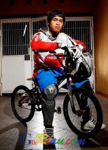 Indonesia Bernafas Lega, Atlet BMX Lolos ke Olimpiade Rio de Jeneiro 2016