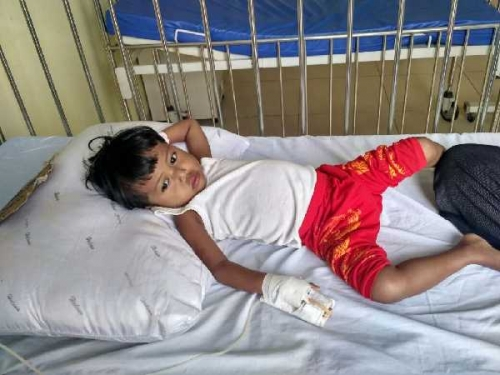Anak Divonis Harus Jalani Operasi Jantung di Jakarta, Pria di Kampar Ini Butuh Bantuan Biaya dari Dermawan