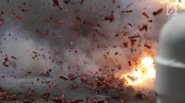 Ledakan Malam Takbiran Hancurkan Musala dan TPQ di Blitar, Polisi Tangkap 1 Orang Diduga Terlibat