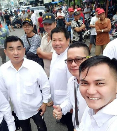 Ribuan Warga Bagansiapiapi Antar Jenazah Tokoh Tionghoa Ong Ching Liong ke Pemakaman