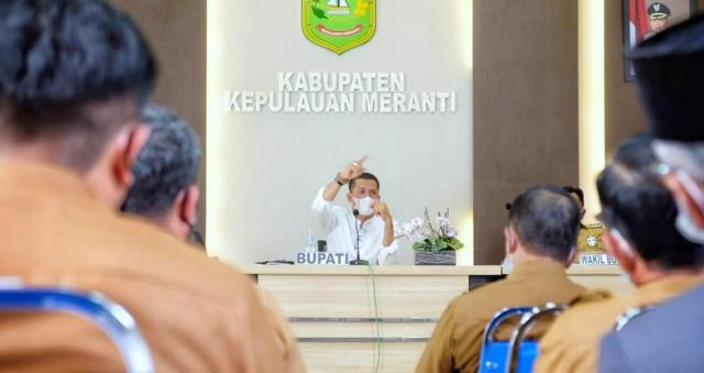 KPK RI Dukung Pelaksanaan 7 Program Strategis Bupati dan Wakil Bupati Kepulauan Meranti