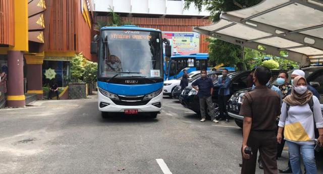 Pemko Pekanbaru Turunkan 10 Bus Vaksinasi Hari Ini, Berikut Lokasinya
