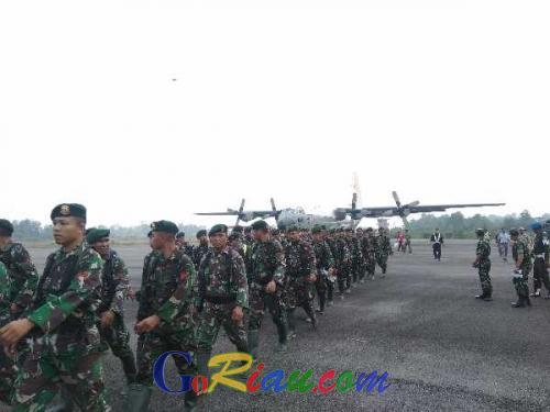1.000 Lebih Personil TNI Polri akan Dikerahkan ke Riau Cegah Karhutla