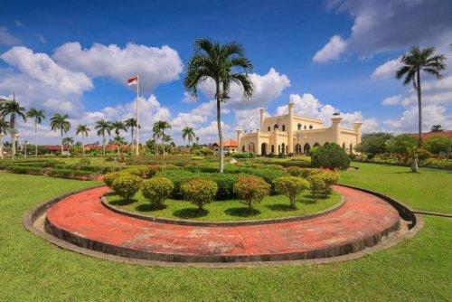 Dibatasi Selama Pandemi Covid-19, Dalam 2 Hari Wisatawan Masuk Istana Siak Capai 640 Orang