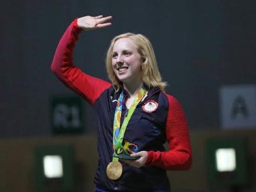 Remaja Cantik Ini Rebut Medali Emas Pertama Olimpiade 2016