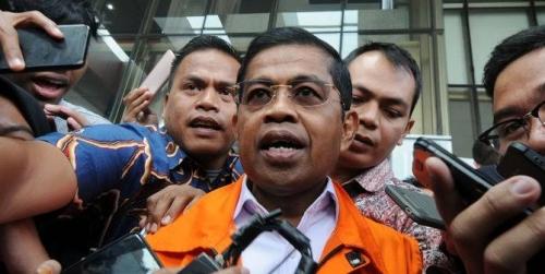 Pengurus Partai Golkar Kembalikan Uap Suap ke KPK