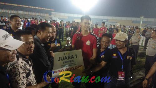 Libas PSPS Riau dan Malaka United, Semen Padang FC Juara Trofeo Piala Walikota Pekanbaru