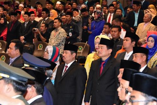 Bupati Bengkalis Titip Pesan Khusus kepada 11 Anggota DPRD Riau Dapil 5