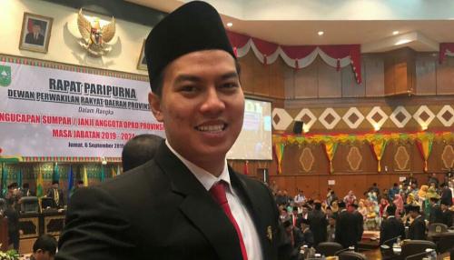 Anggota Termuda DPRD Riau 2019-2024, Muhammad Aulia Usung Keteladanan Berpolitik