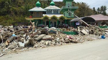 Diguncang Gempa Saat Muazin Lantunkan Hayya Alal Falah, Masjid Babul Jannah Kini Masih Kokoh di Pantai Donggala