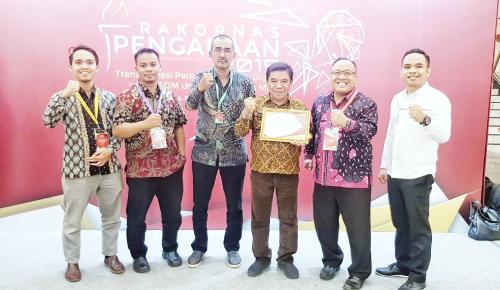 ULP Kepulauan Meranti Raih Penghargaan National Procurement Award 2019