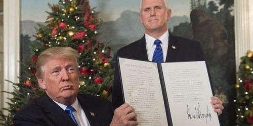 Abaikan Peringatan Tokoh Dunia, Donald Trump Hari Ini Resmi Umumkan Yerusalem Ibu Kota Israel
