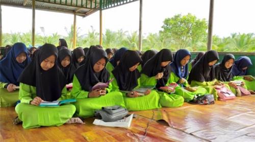 Sekolah Mengaji Sudah Berjalan 3 Tahun, SMK An-Nur Kuala Selat Kembali Programkan Hapal Al-Quran
