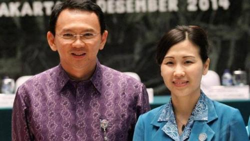 PN Jakut Akui Ahok Gugat Cerai Veronica Tan