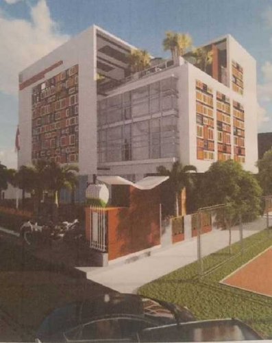 Dengan Rp7 Miliar, Pembangunan Gedung Pustaka Kuansing Hanya Sampai Struktur Bangunan