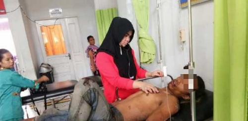 Curi Walet, Warga Inhil Riau Nyaris Tewas Dihakimi Massa