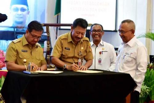 Hadir pada Rakor Perdagangan, Koperasi dan UKM se-Riau, Wabup: Ini Sangat Bermanfaat untuk Inhil