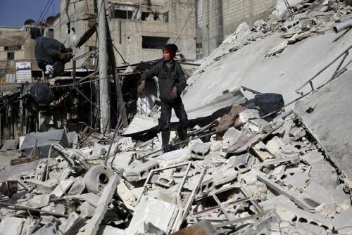 850 Muslim Terbunuh di Ghouta Timur
