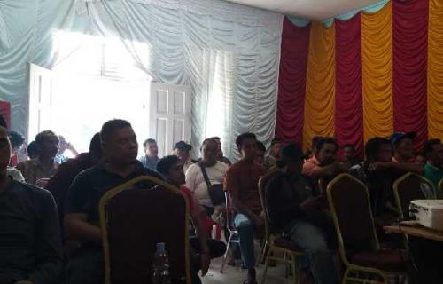 Masyarakat Pantaicermin Tolak Pembangunan PKS PT KAMI