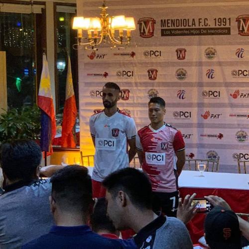FAT, Produk Asal Riau Kembali Sponsori Mendiola FC di Liga Filipina