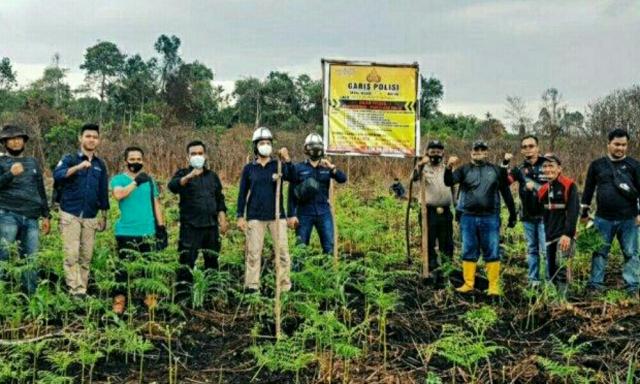 Bakar Lahan untuk Tanam Jagung dan Pisang, Kakek di Inhil Riau Jadi Tersangka Karhutla
