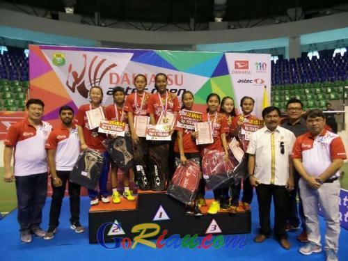 Berikut Daftar Atlet Peraih Medali Dikejuaraan Daihatsu Astec Open 2017 Seri I Pekanbaru