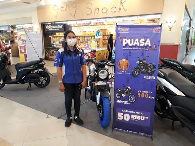 Hanya Sampai 11 April 2021, Pameran Motor Yamaha di Mall Pekanbaru Banyak Potongan