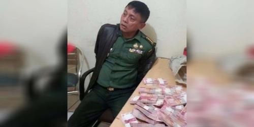 RASAIN... Menhan Minta Anggota TNI yang Tertangkap Edarkan Uang Palsu Dihukum Potong Tangan