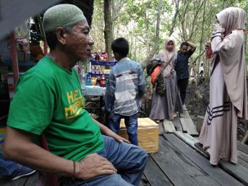Saat Libur Lebaran, Pengunjung Bandar Bakau Dumai Turun Sekitar 42 Persen