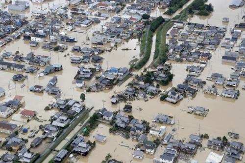 Hujan Deras Tak Lazim Guyur Jepang, 64 Tewas dan Jutaan Orang Mengungsi