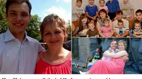 Pemuda Ganteng Usia 23 Tahun Ini Kaget Wanita Pujaannya Sudah Lahirkan 11 Anak, Namun Tetap Menikahinya