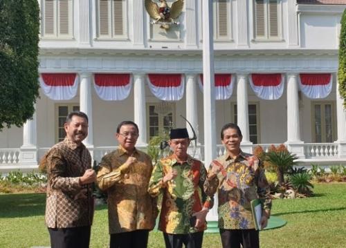 Usai Pertemuan dengan Presiden di Istana Negara, Bupati Inhil Minta Semua Pihak Berperan Aktif Cegah Karhutla