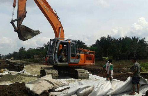 Tahun Ini RAPP Tuntaskan Pembangunan 12 KM Jalan Poros di Pulau Padang