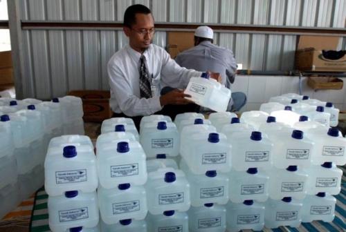 Sudah Dilarang, Tetap Banyak Jamaah Haji Masukkan Air Zamzam dalam Koper Bagasi