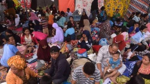 Wabah Malaria Meluas di Pengungsian Korban Gempa di Lombok Barat, Serang Ibu Hamil dan Bayi