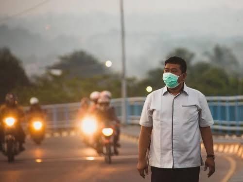 Udara Tak Sehat, Pemprov Riau Pindahkan Acara Haornas XXXVI ke GOR Tribuana Pekanbaru