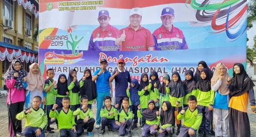 Rosdaner Ajak Masyarakat Budayakan Olahraga
